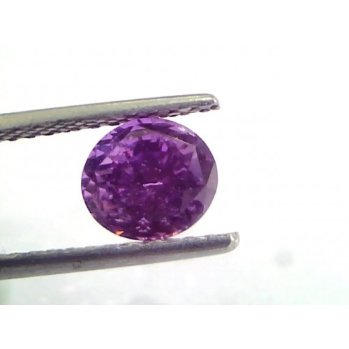 2.16 Ct Unheated Untreated Natural Purple Sapphire Khuni Neelam