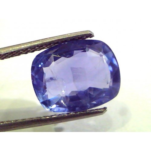 6.21 Ct Unheated Untreated Natural Ceylon Blue Sapphire Neelam