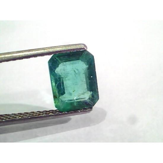 2 31 Ct Untreated Natural Zambian Emerald Gemstone Panna Aaa