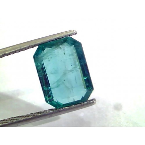 3.78 Ct Untreated Premium Natural Zambian Emerald Gems