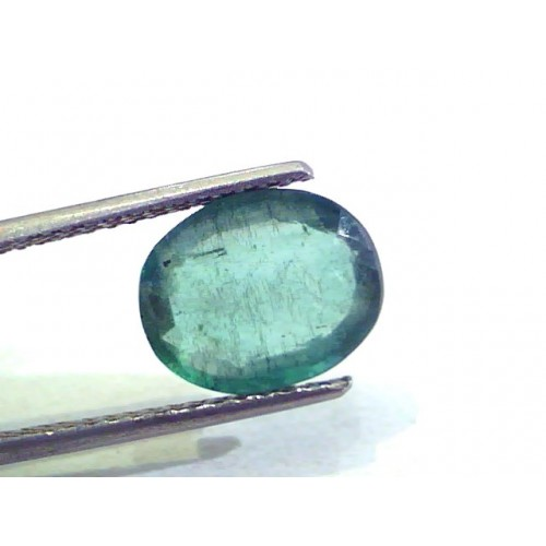 3.81 Ct Unheated Untreated Natural Zambian Emerald Panna Gemstones