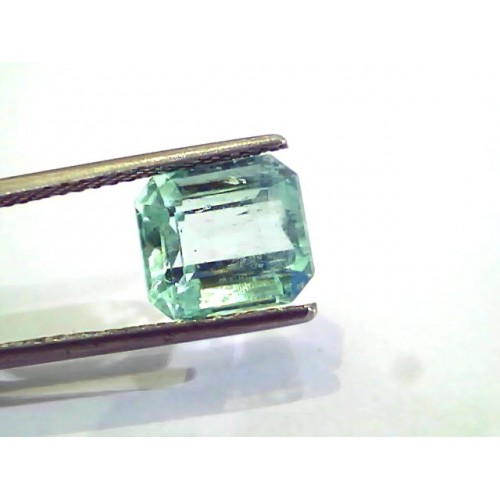 4.02 Ct Unheated Natural Colombian Emerald Gemstone**RARE**