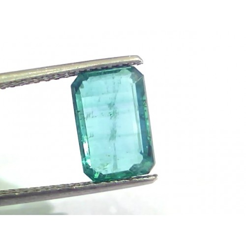 4.22 Ct Untreated Natural Zambian Emerald Gemstone Panna AAAAA