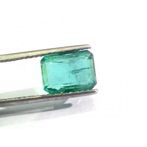 4.63 Ct Untreated Natural Zambian Emerald Gemstone Panna AAAAA