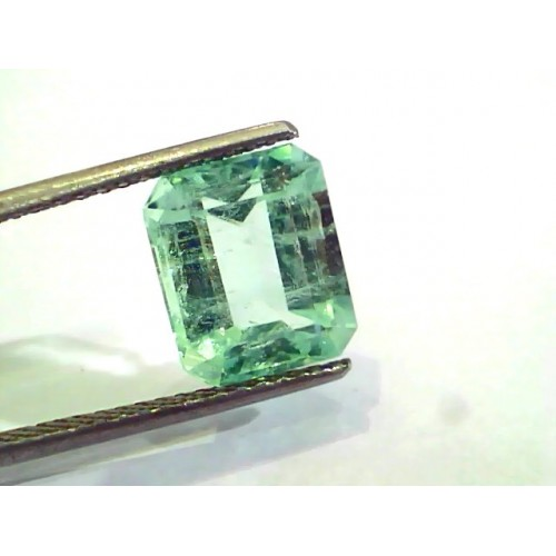 4.76 Ct Unheated Natural Colombian Emerald Gemstone**RARE**