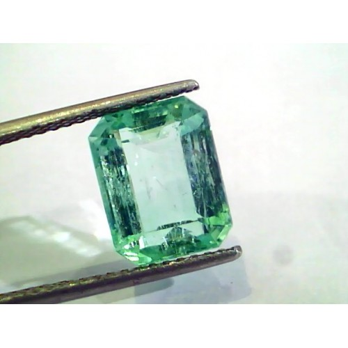 5.74 Ct Unheated Natural Colombian Emerald Gemstone**RARE**