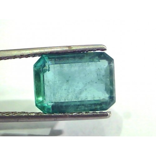5.92 Ct Untreated Natural Zambian Emerald Gemstone Panna Stone