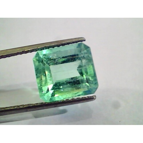 7.08 Ct Unheated Natural Colombian Emerald Gemstone **RARE**