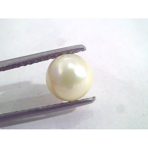 2.50 Ct Natural Certified Real South Sea Pearl,Certified Moti
