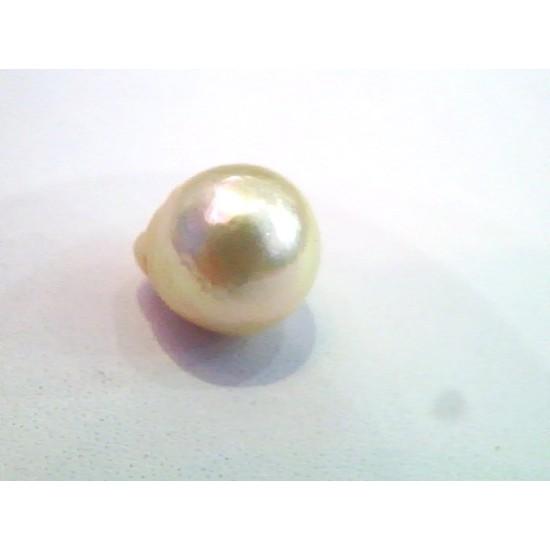 19bd04e454520 4.91 Carat Natural Certified Real South Sea Pearl,Moti