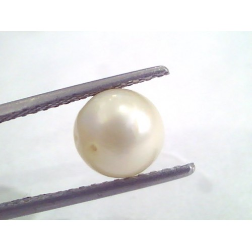 3.22 Ct Natural Certified Real South Sea Pearl,Certified Moti
