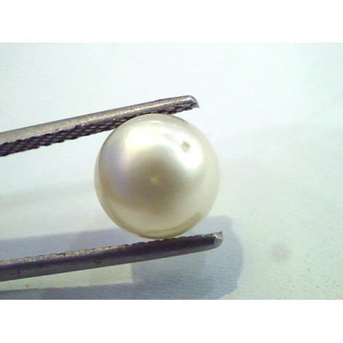 4.24 Carat Natural Certified Real South Sea Pearl,Certified Moti