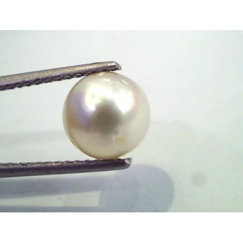 4.91 Carat Natural Certified Real South Sea Pearl,Certified Moti