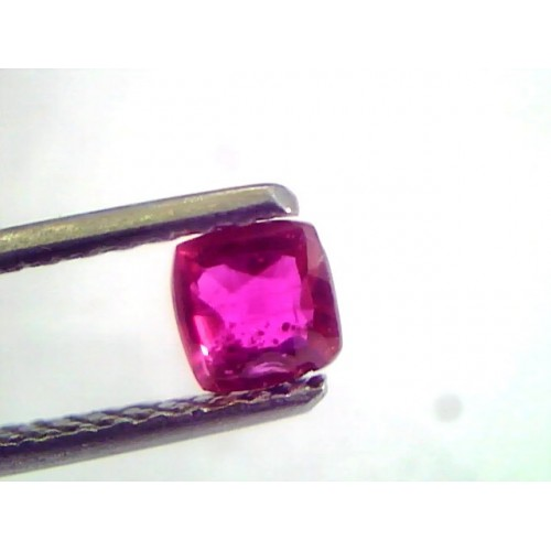 0.56 Ct IGI Certified Unheated Untreted Natural Mozambique Ruby AAAAA