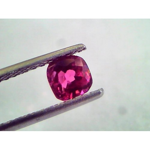 0.85 Ct IGI Certified Unheated Untreted Natural Mozambique Ruby AAAAA