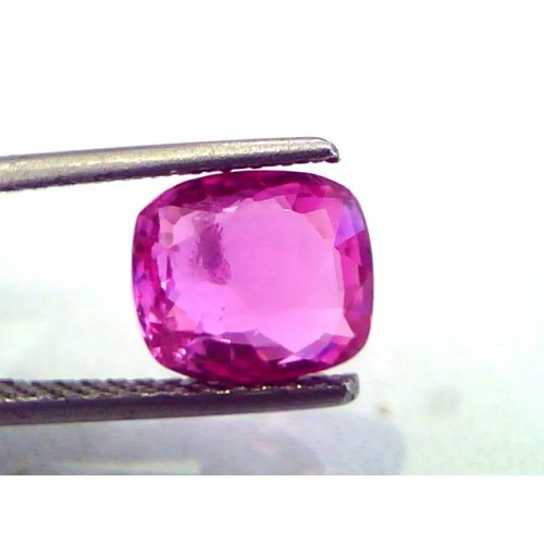2.95 Ct Unheated Untreated Natural Madagaskar Pinkish Ruby **RARE**