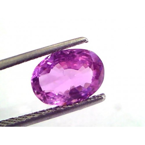 3.00 Ct Certified Unheated Untreated Natural Madagaskar Ruby