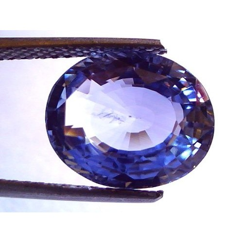 8.29 Ct Top Grade IGI Certified Natural Ceylon Blue Sapphire AAA