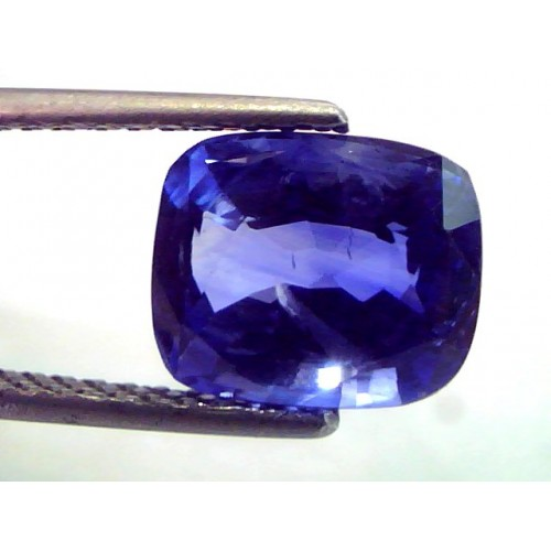 5.22 Ct Top Colour IGI Certified Natural Ceylon Blue Sapphire AA