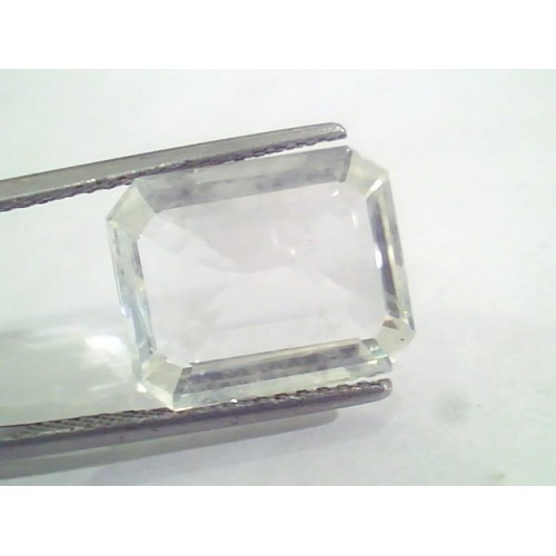 Huge 10.11 Ct Unheated Untreated Natural Ceylon White Sapphire