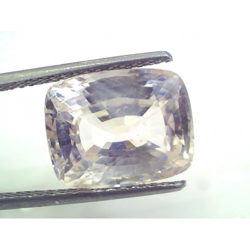 Huge 11.95 Ct Unheated Untreated Natural Ceylon White Sapphire