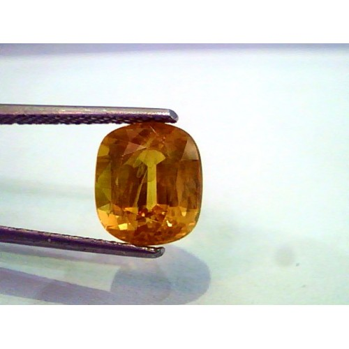 5.29 Ct Natural Premium Bangkok Yellow Sapphire/Pukhraj Heated
