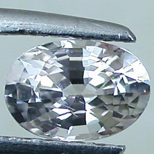 3 Carat Natural White Zircon Gemstone For Venus A+++++++