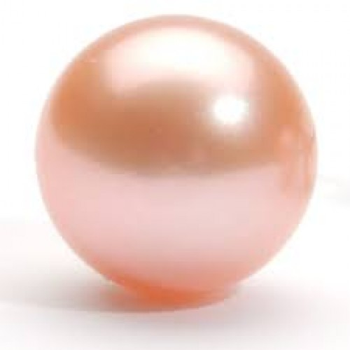 Pink Pearl 8mm Natural Pink Pearl 4 Carat Approx