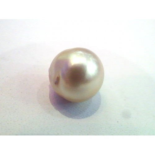 4.62 Carat Natural Certified Real South Sea Pearl,Certified Moti