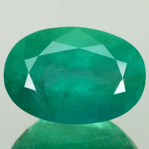 2 Carat Natural Zambian Emerald,Real Panna Gemstone