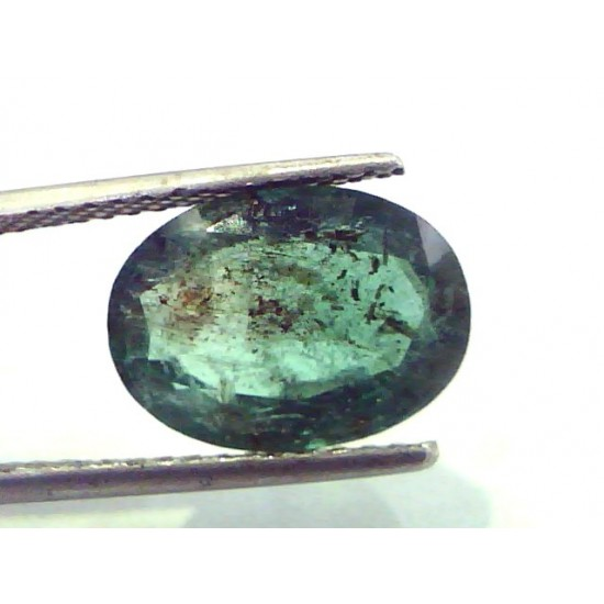 Real Life Emerald: 4.81 Ct Untreated Natural Zambian Emerald Gemstone,Real Panna