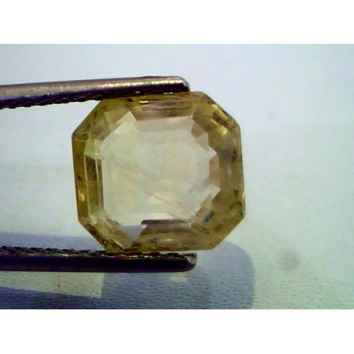 5.80 Ct Unheated Untreted Natural Ceylon Yellow Sapphire/Pukhraj