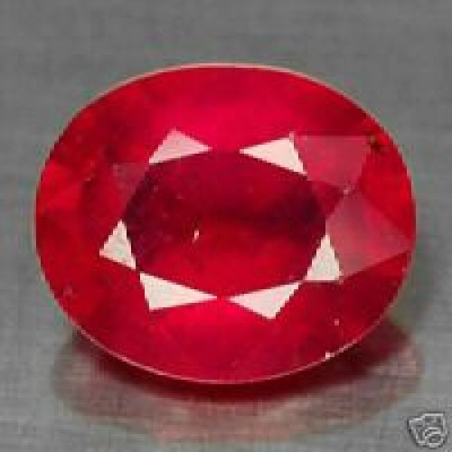 Huge 30.90 Ct Natural New Burma Mogok Ruby Gems For Sun Planet