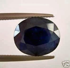 45 carat natural dark bangkok blue sapphire gemstone