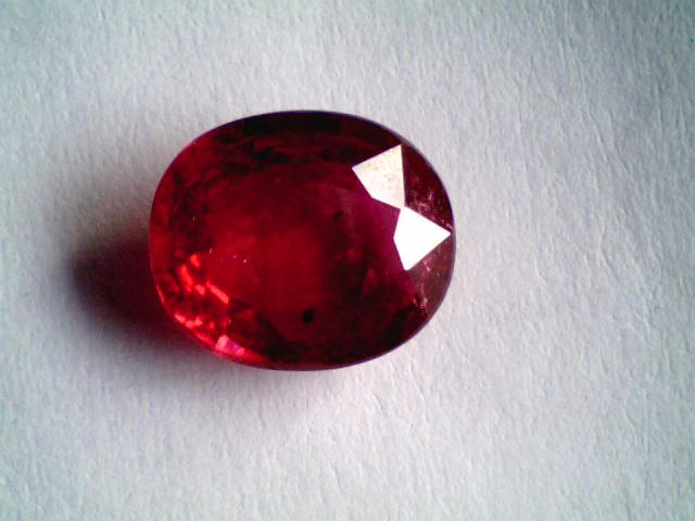 2 5 Carat Natural Real New Burma Ruby Gemstones Sold Gems